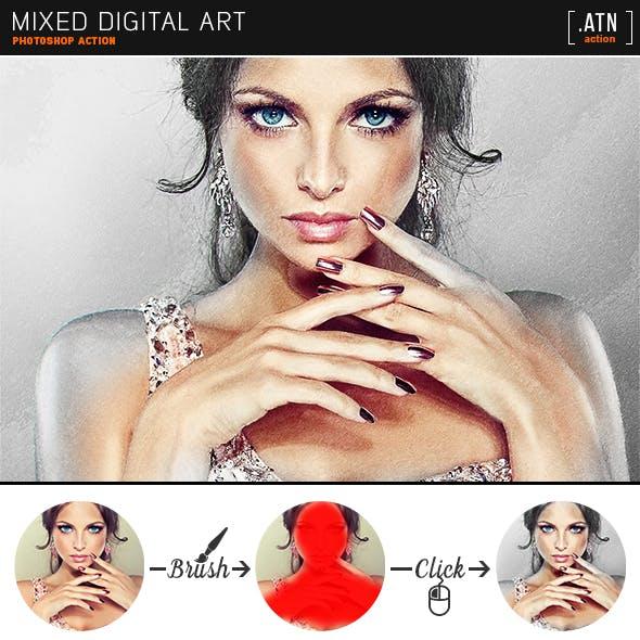 Mixed Digital Art