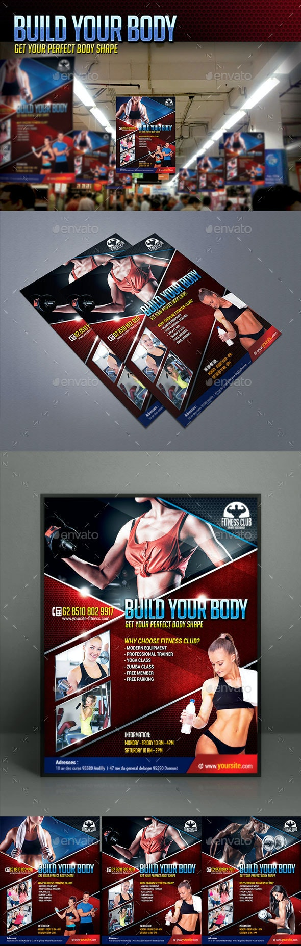 Fitness Club Flyer IV - Sports Events