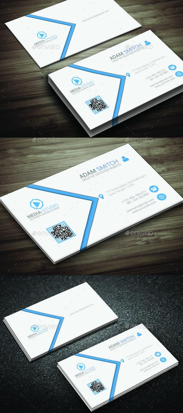 Minimal Elegant Business Card - Corporate Business Cards