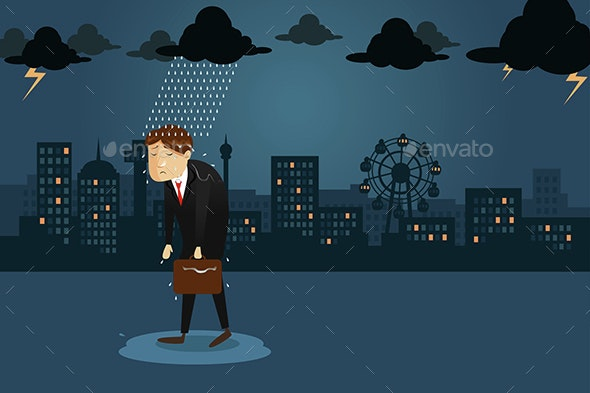 Emotional Crisis Concept - Concepts Business