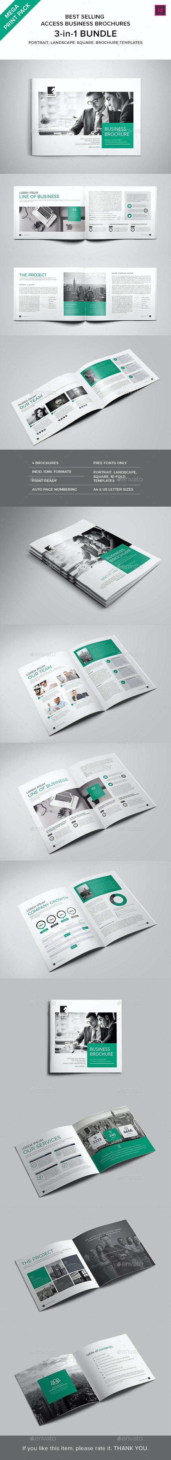 Print Pack :: Access Brochures Bundle - Corporate Brochures