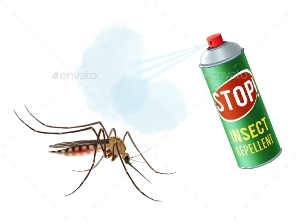 Anti Mosquito Spray - Animals Characters