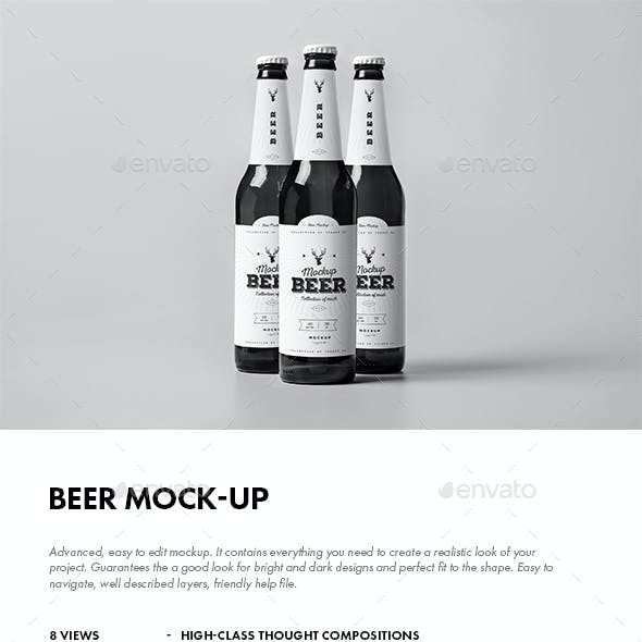 Beer Mock-up