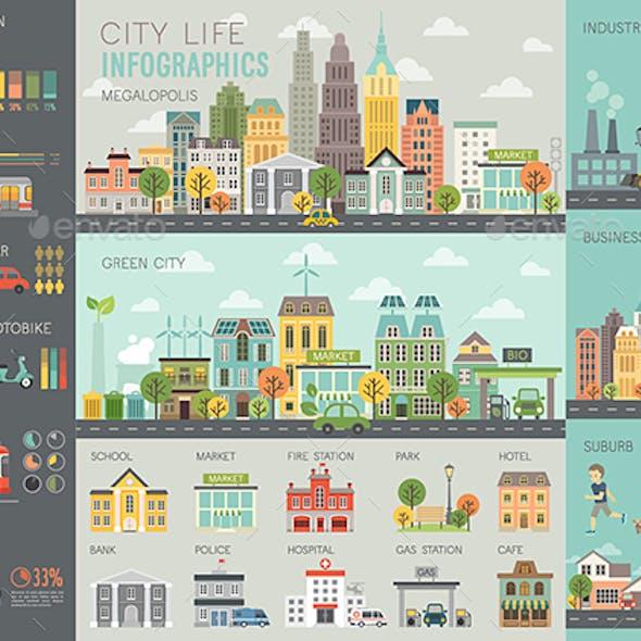City Life Infographic
