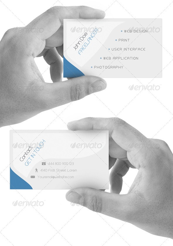Deep Simplicity Card v1.0 - Corporate Business Cards