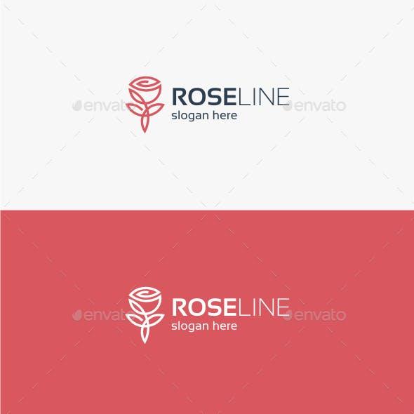 Rose Line Logo