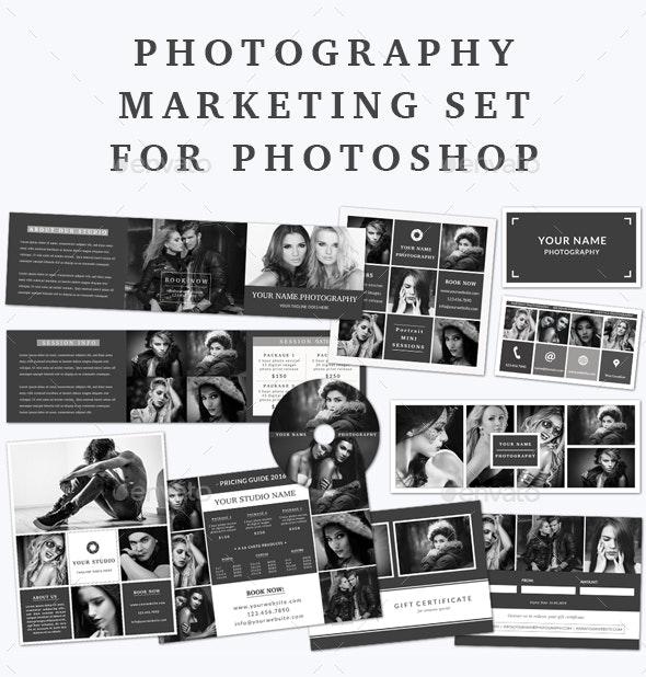 Photography Marketing Set - Print Templates