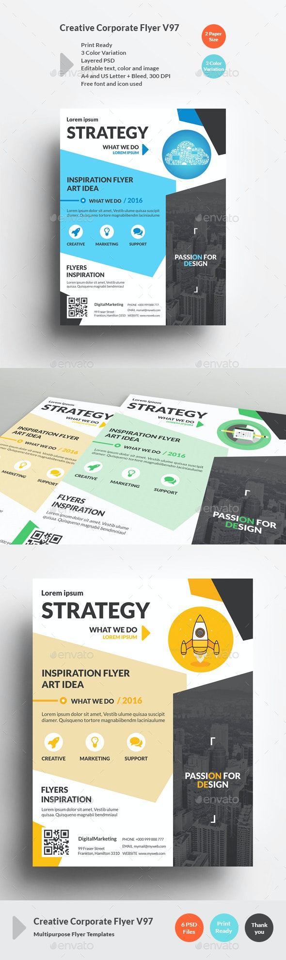 Creative Corporate Flyer V97 - Corporate Flyers