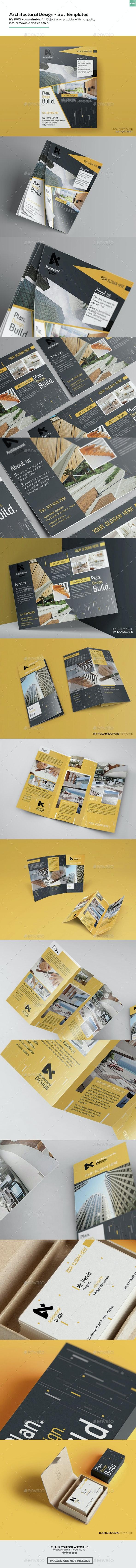 Architectural Design - Set Templates - Corporate Flyers