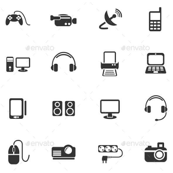 Devices Icon Set