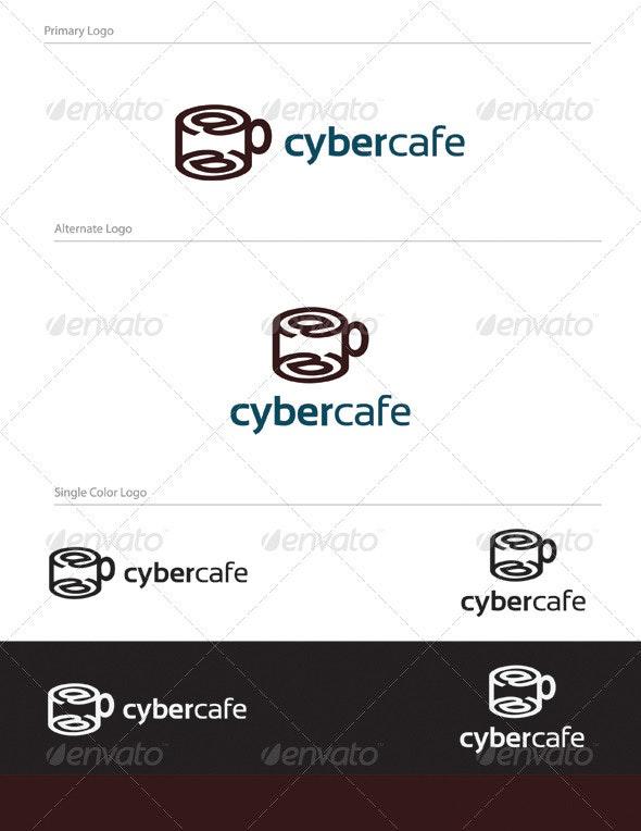Cyber Cafe Logo Design - LET-006 - Letters Logo Templates