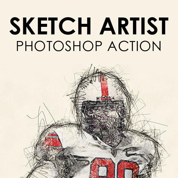 Sketch Artist Photoshop Action