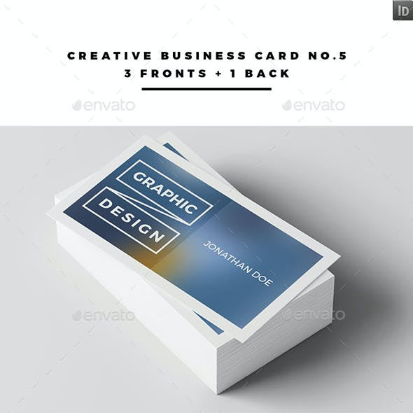 Creative Business Card No.5