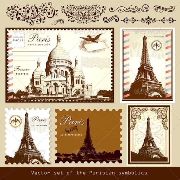 Vector Set: Symbols of Paris