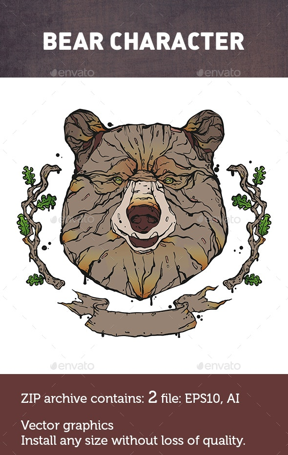 Bear Animals - Animals Characters