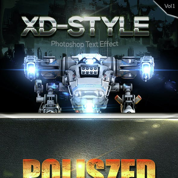 XD Text Effect Style Vol 1