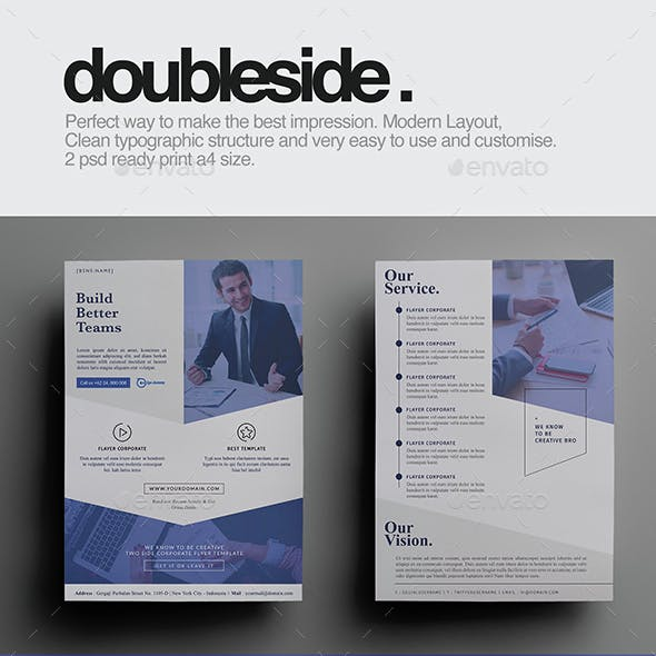 Doubleside Corporate Flyer
