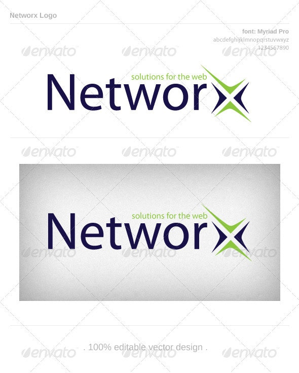 Networx - Letters Logo Templates
