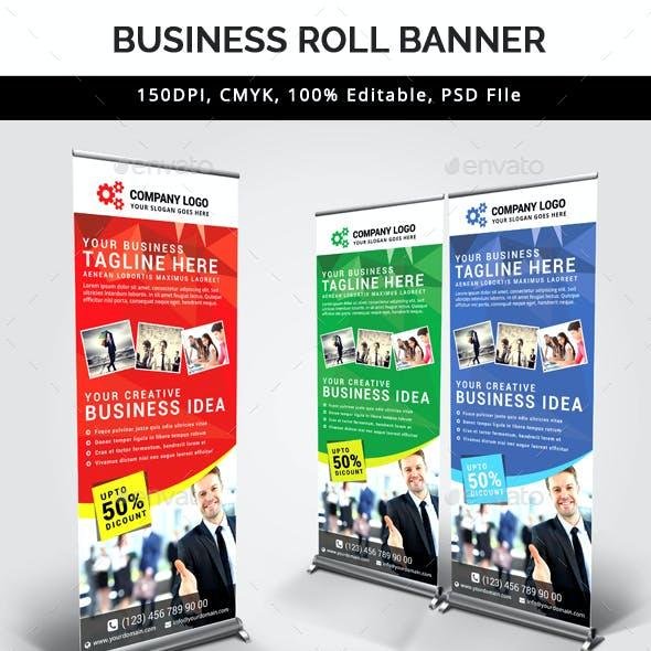 Multipurpose Business Roll Up Banner V33