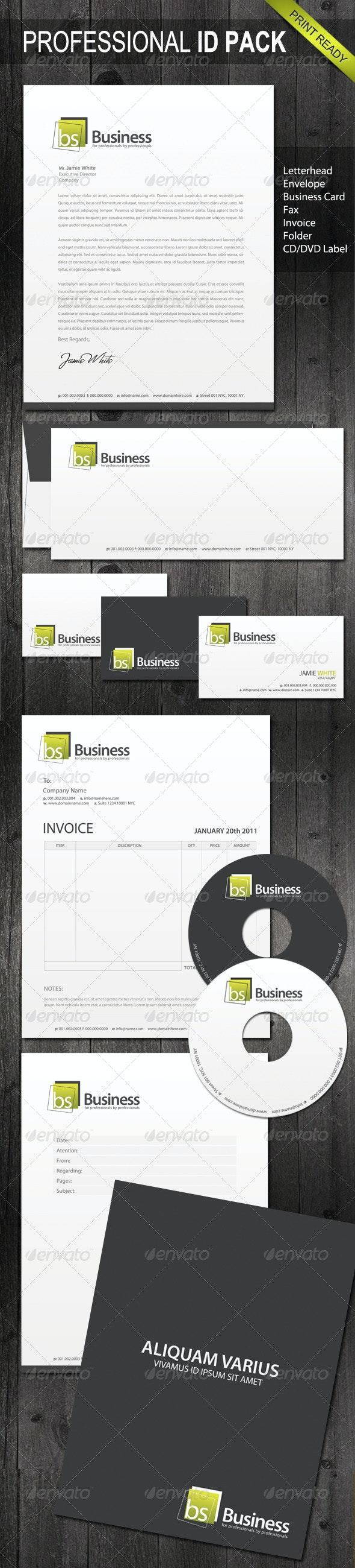 Professional Identity 05 - Stationery Print Templates