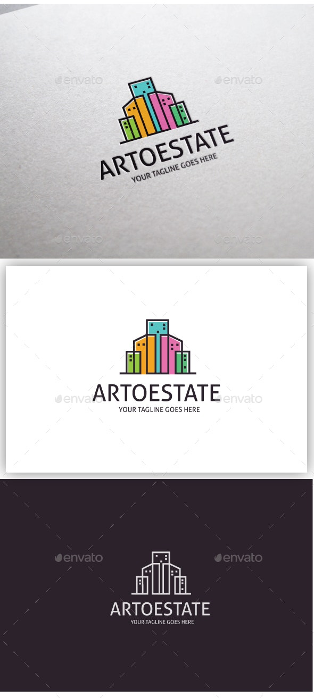 Arto Estate - Buildings Logo Templates