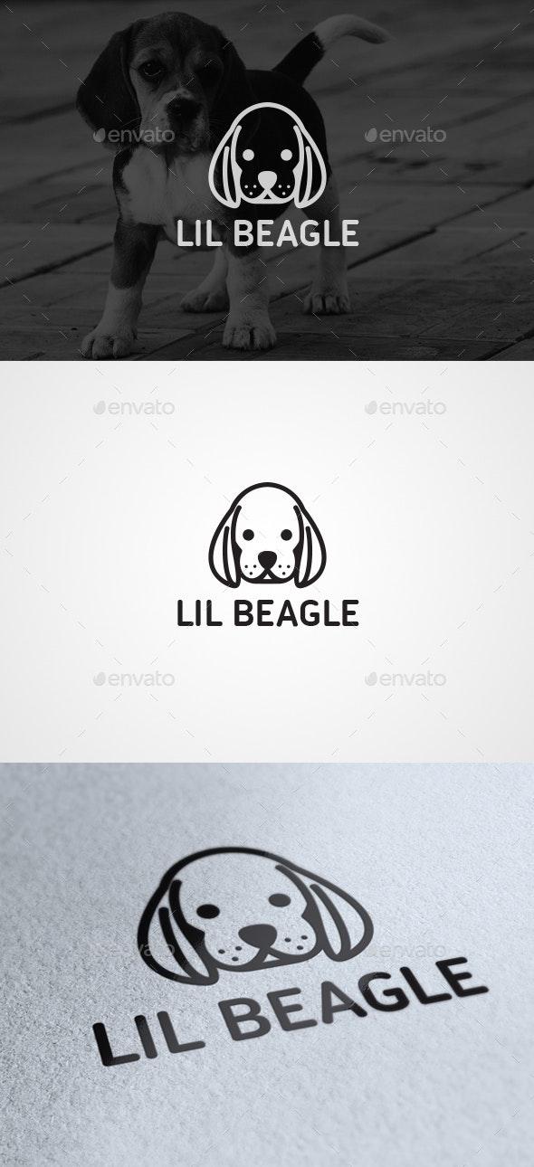 Lil Beagle - Animals Logo Templates
