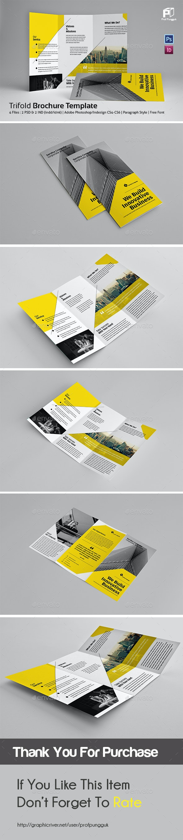 Business Trifold Vol.7 - Corporate Brochures