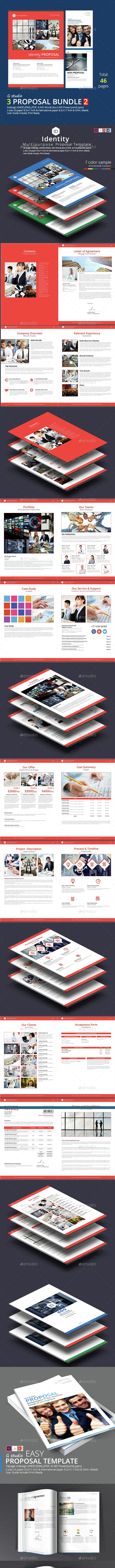 3 Proposal Bundle Template 2 - Proposals & Invoices Stationery