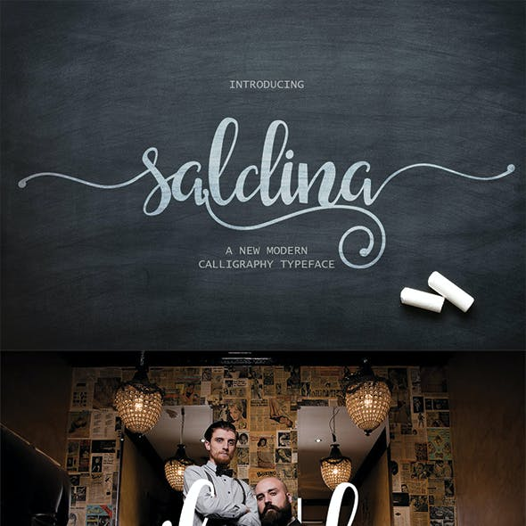 Saldina Beautiful Script