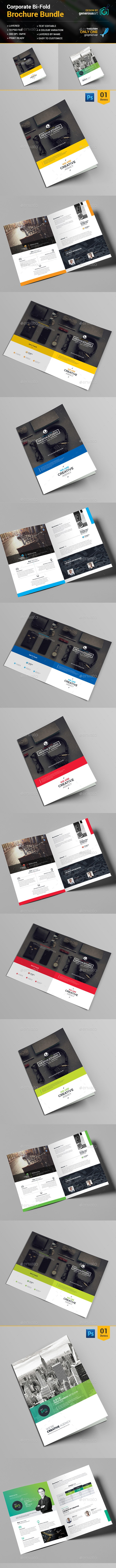 Bi-Fold Brochure_Bundle_2 in 1 - Corporate Brochures