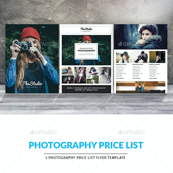 Creative Photography Marketing Flyer