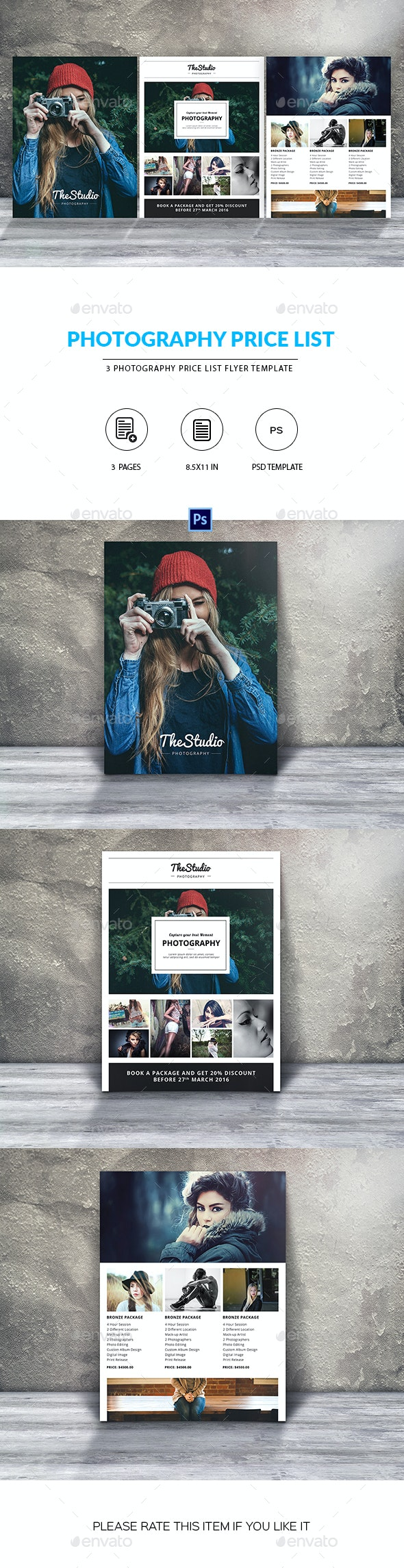 Creative Photography Marketing Flyer - Corporate Flyers