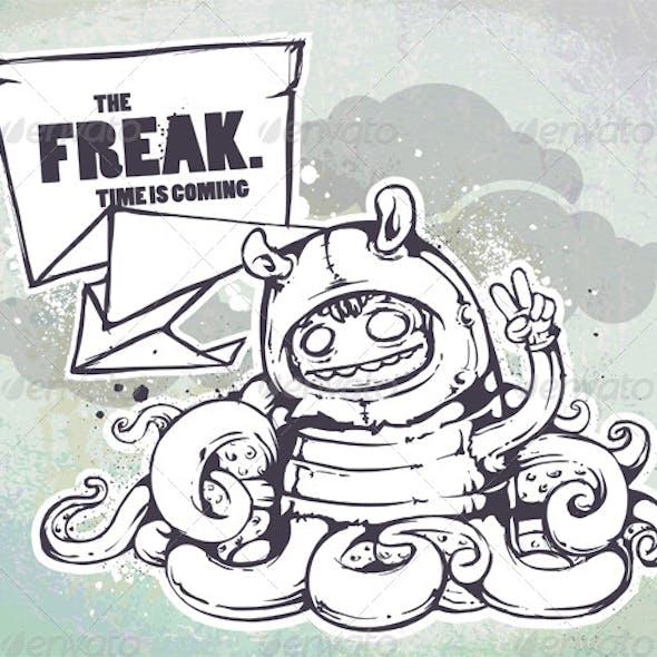 Hand Drawn Freak