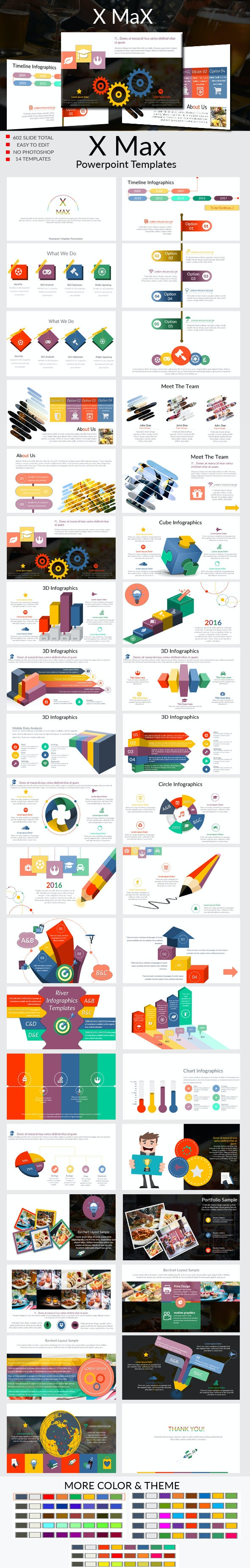 X Max Powerpoint Templates - Business PowerPoint Templates