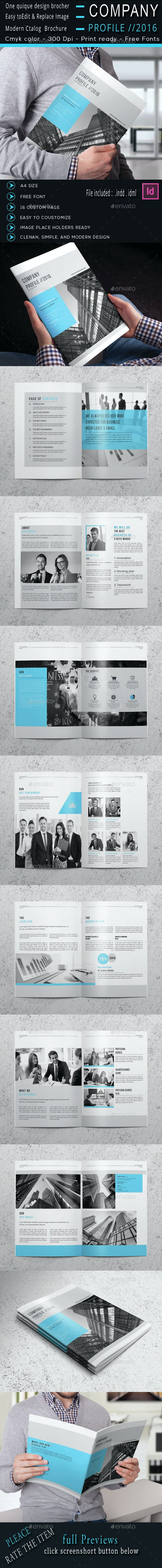 The Company Profile - Corporate Brochures