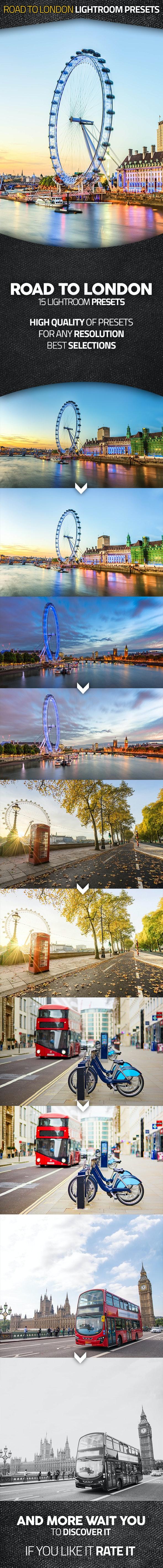 Road To London Lightroom Presets - Landscape Lightroom Presets