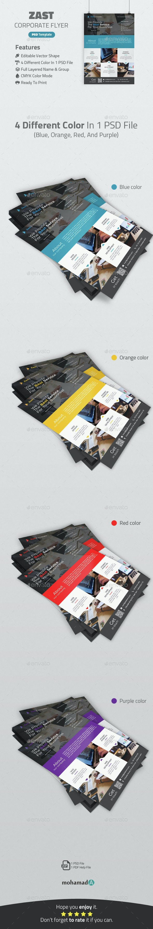 Zast Corporate Flyer - Corporate Flyers