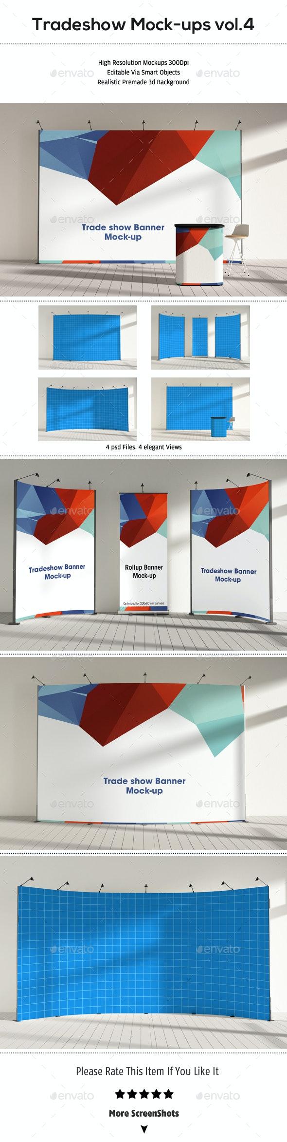 Trade Show Booth Mock-ups Vol.4 - Product Mock-Ups Graphics