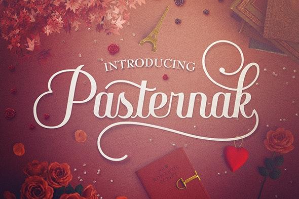 Pasternak - Calligraphy Script