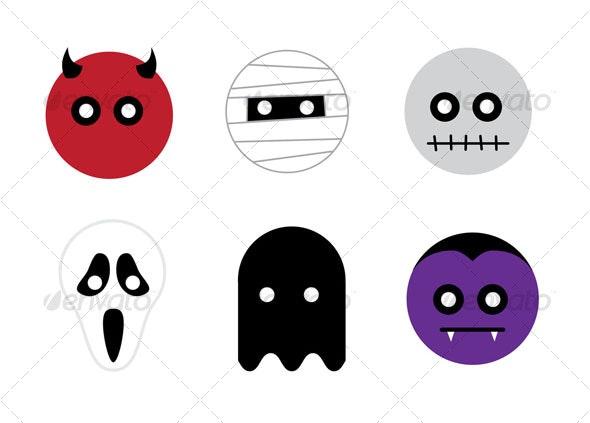 Horror Movie Character Halloween Masks - Halloween Seasons/Holidays