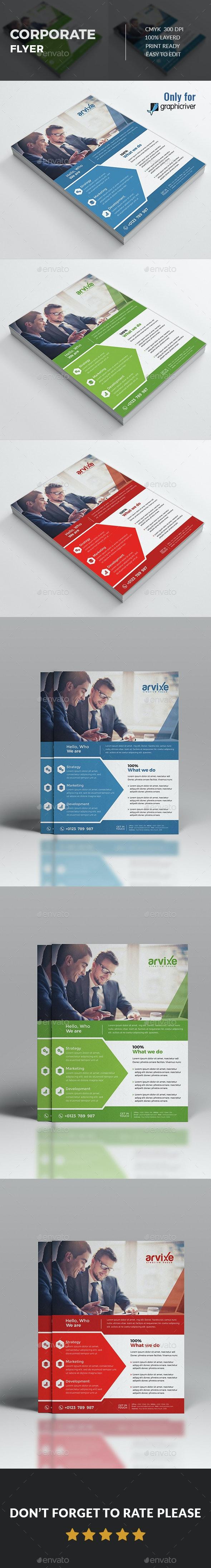 Corporate Flyer  - Corporate Flyers