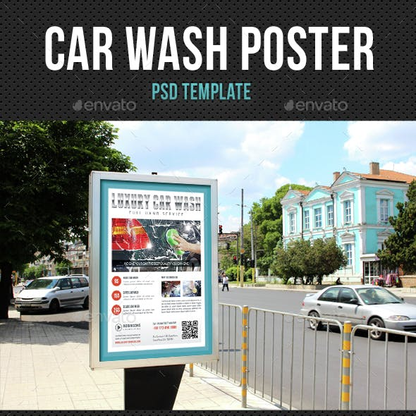 Car Wash Poster 02
