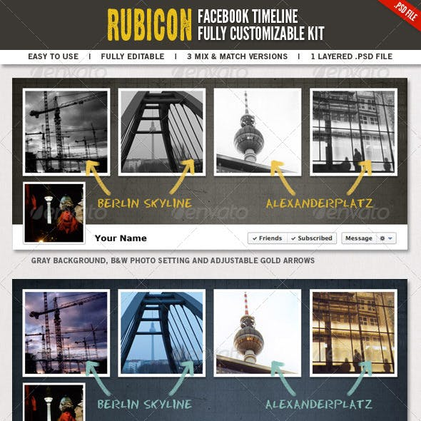 Rubicon Facebook Timeline Kit