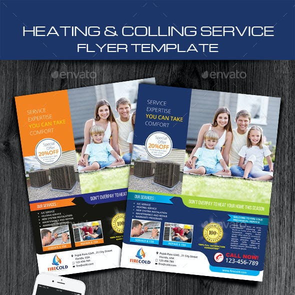 Heating and Cooling service solution