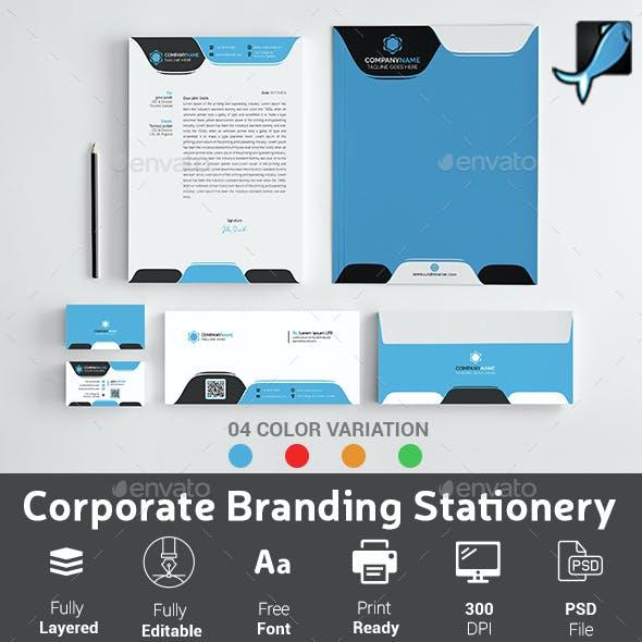 Corporate Branding Stationery