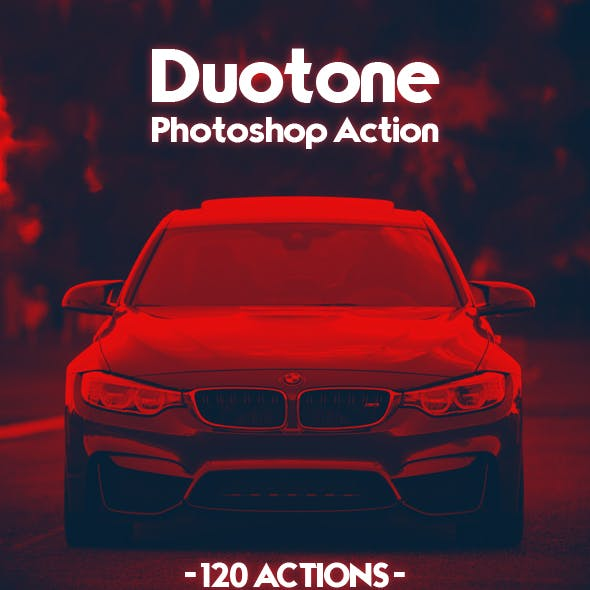 120 Duotone Photoshop Actions