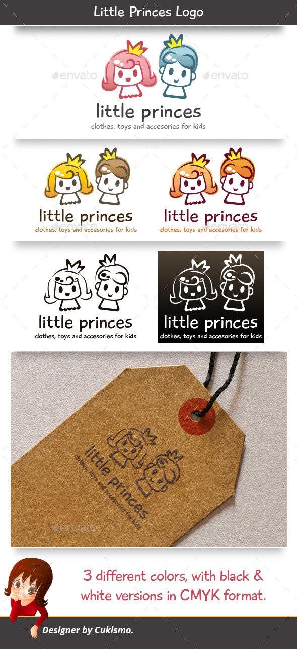 Little Princes Logo - Humans Logo Templates