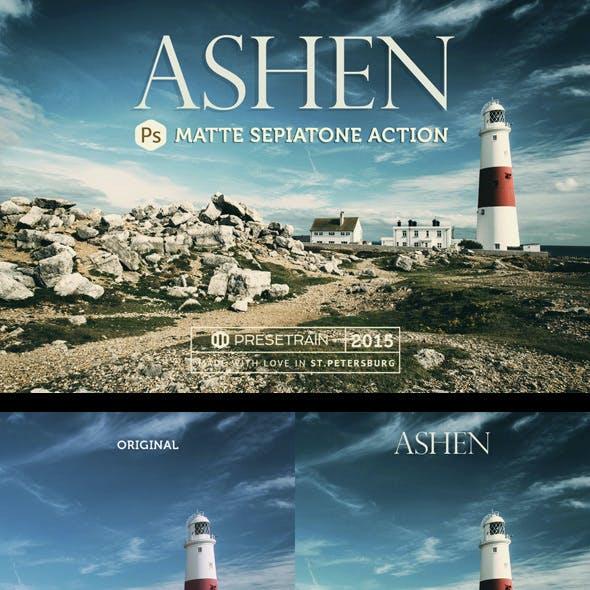 Ashen Landscape Photoshop Action