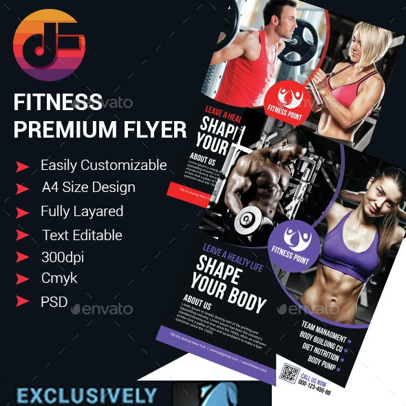 Fitness Premium Flyer Design