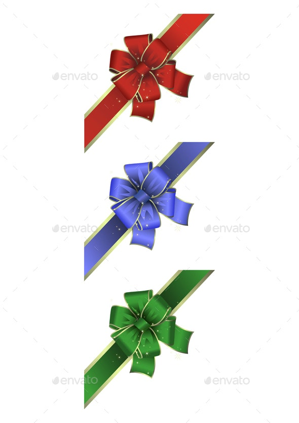 Colorful Bow Collection - Decorative Symbols Decorative